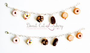 Donut Charm Bracelet