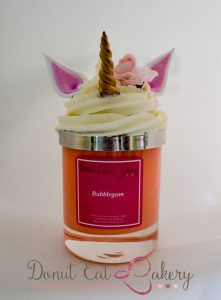 Bubblegum Unicorn Candle